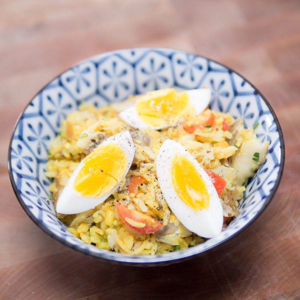 A warm bowl of kedgeree