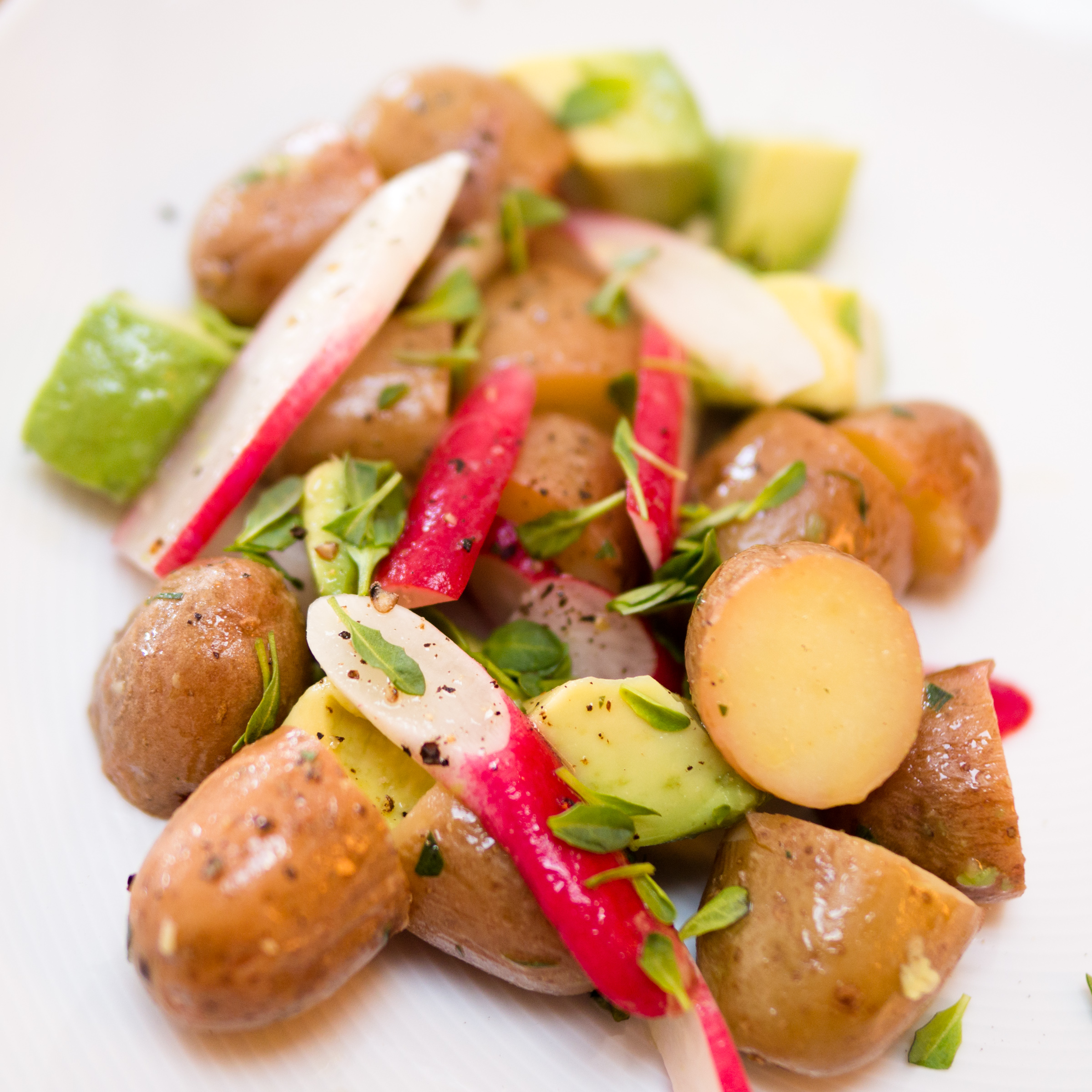 Red Potato Salad With Scallions & Radishes Recipes — Dishmaps