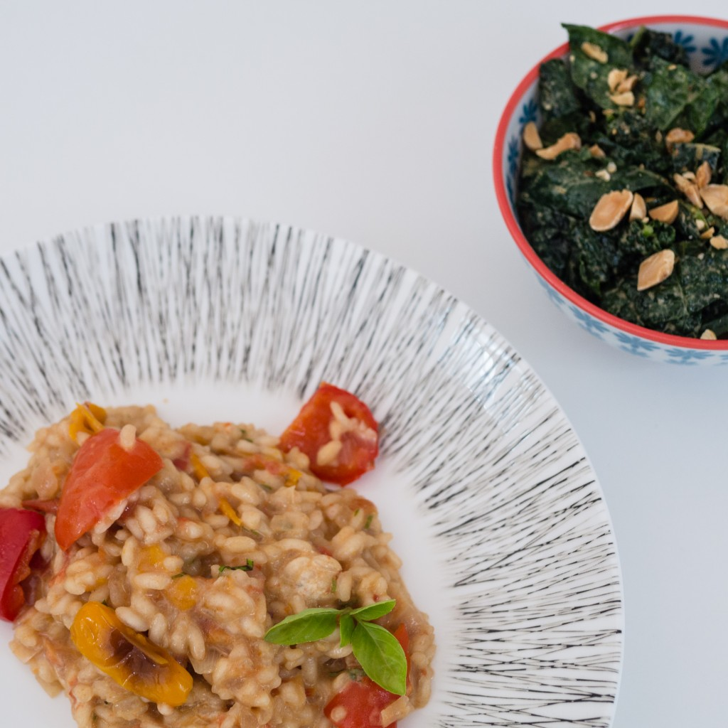 sweet pepper risotto