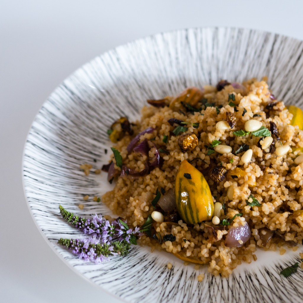 turkish eggplant pilaf